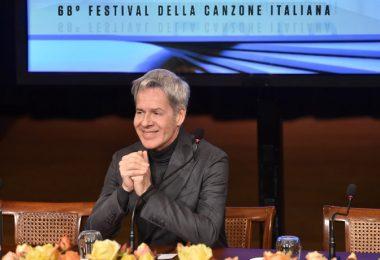 Claudio Baglioni a Sanremo
