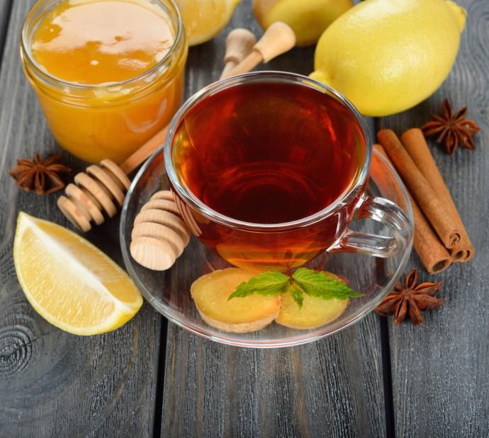 tè allo zenzero, cannella e limone per dimagrire