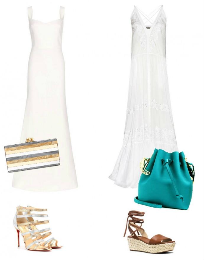 Come abbinare un vestito bianco in 5 modelli basic Junglam