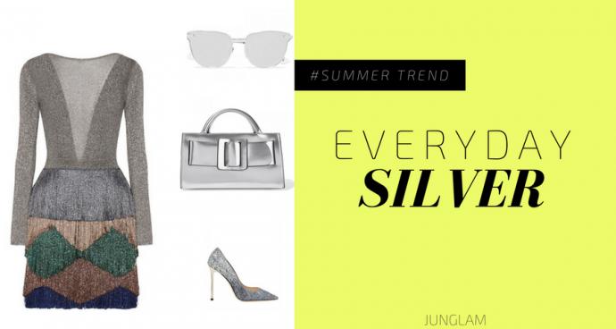 79445d3711 Come abbinare i colori: l'argento - Junglam