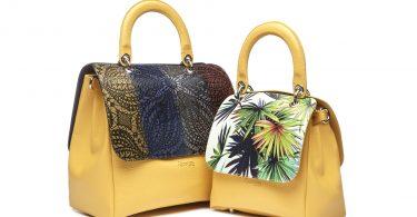 File Bag gialle by Regenesi
