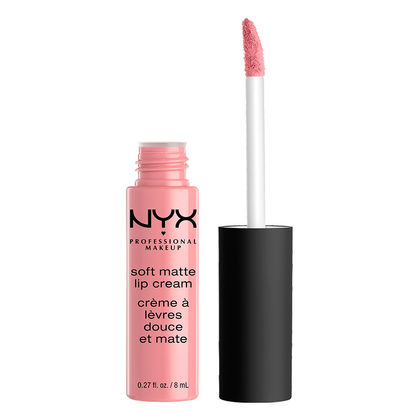 Millennial Pink Nyx Soft Matte Lip Cream in Tokyo