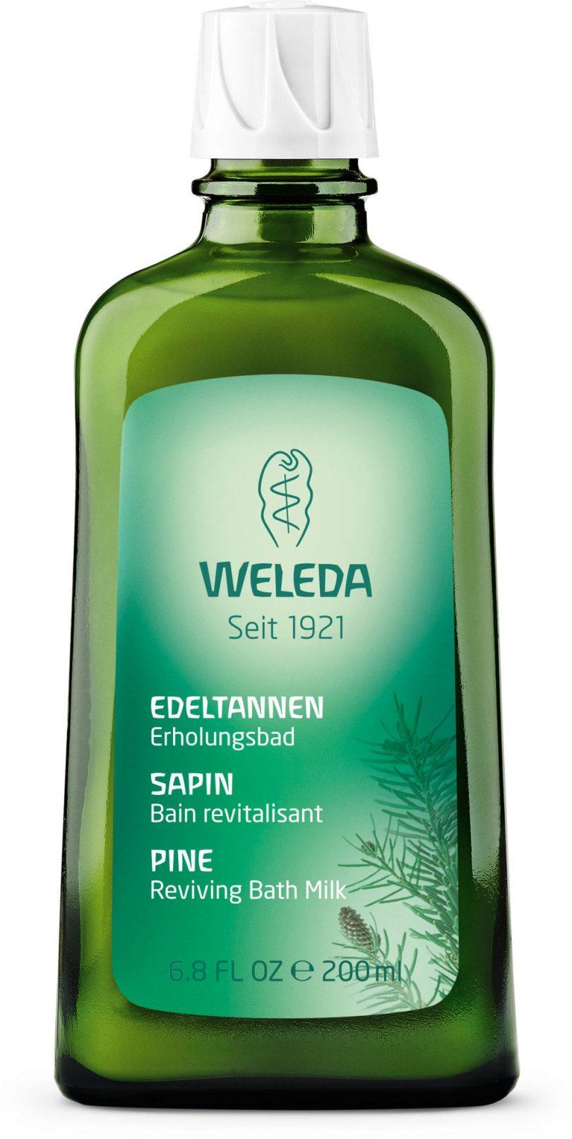 Bagno balsamico all'abete di Weleda