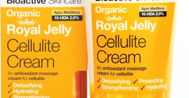 Royal Jelly Cellulite Cream di Dr. Organic