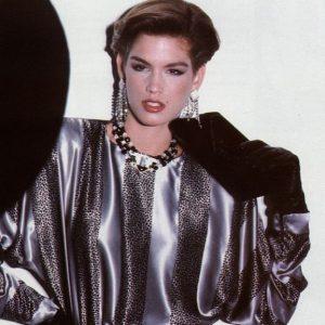Modelle anni 80 Cindy Crawford