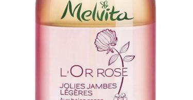 Melvita Duo Olio e Acqua Gambe Leggere Bio L'Or Rose