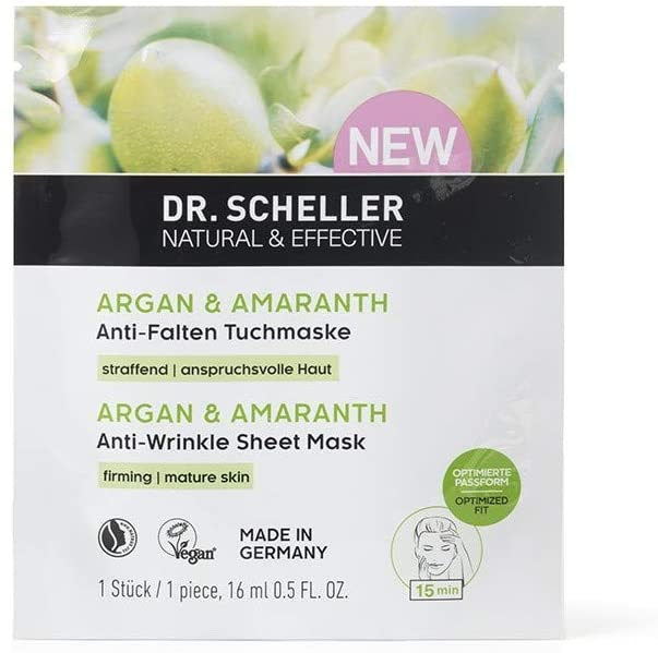 Argan Bio & Amaranto - Maschera Viso di Dr. Scheller