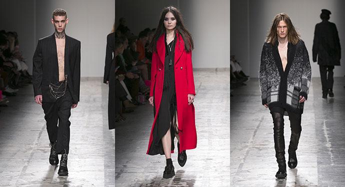 Isabel Benenato  la collezione Autunno Inverno 2019 a Milano Moda Uomo 85bd2de884