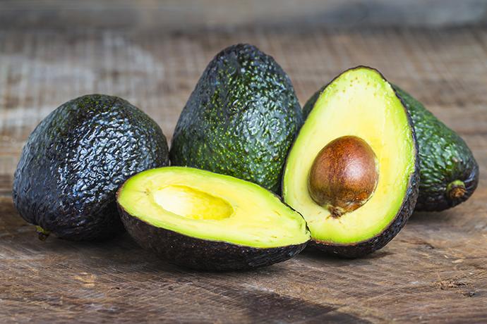 Maschera antirughe all'avocado
