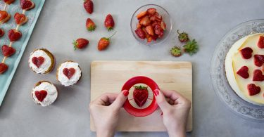 Erdbeer-Ausstecher Sweet Heart