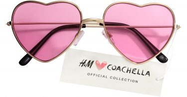 Occhiali da sole in stile Coachella H&M