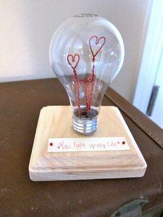 Lampadina San Valentino - fonte Pinterest