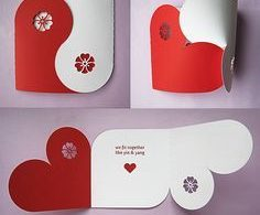 Biglietto auguri San Valentino DIY - fonte Pinterest