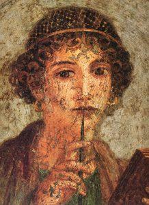 Storia del mascara Fanciulla romana