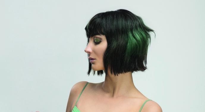 Taglio di capelli carre corto