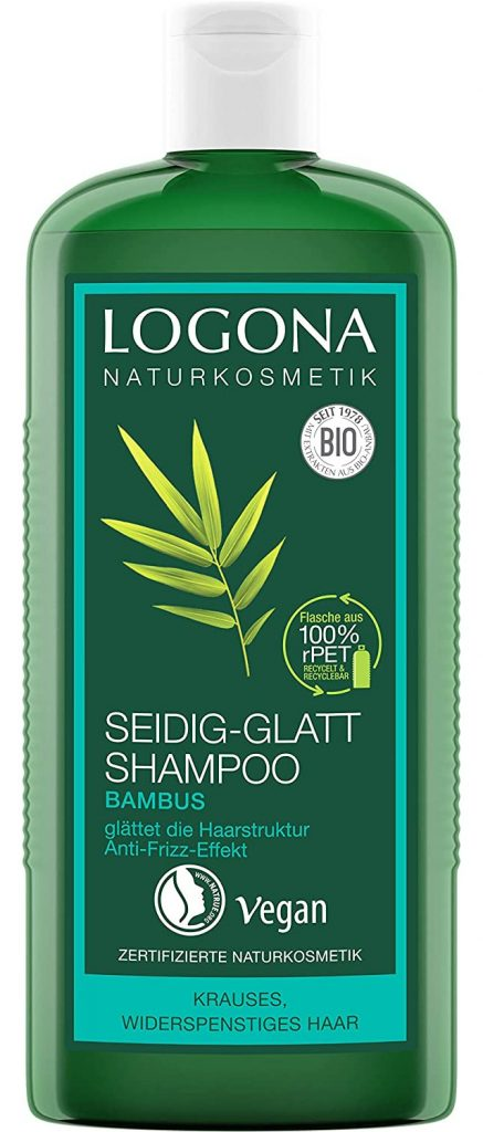 Shampoo crema bambù per capelli sottili Logona