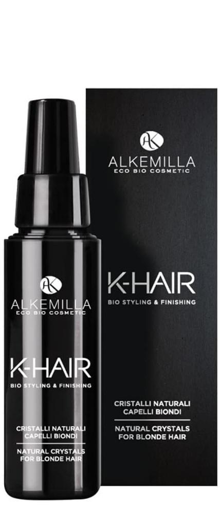 Cristalli per capelli biondi Alkemilla K-Hair