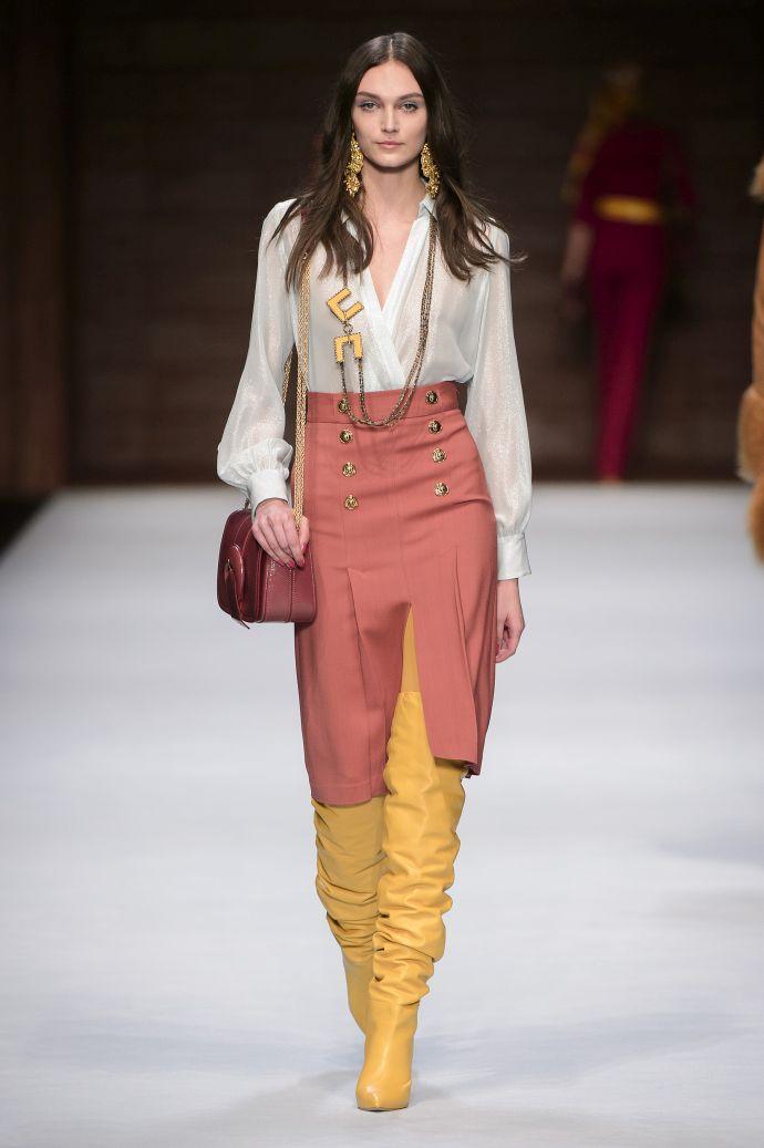 Elisabetta Franchi FW 18 19 Milano Fashion Week