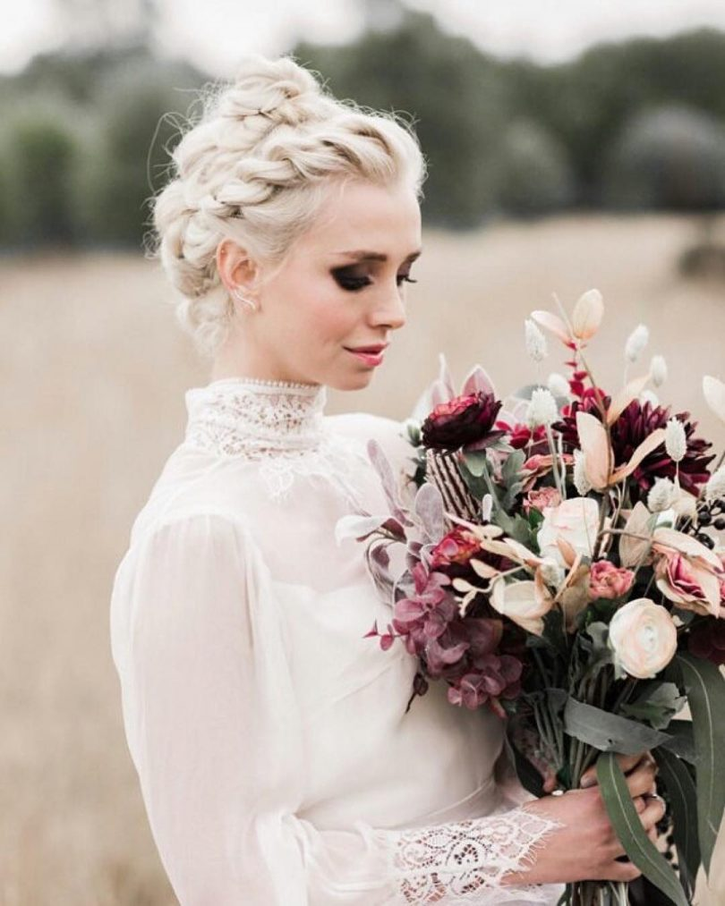 Le più belle acconciature da sposa con treccia