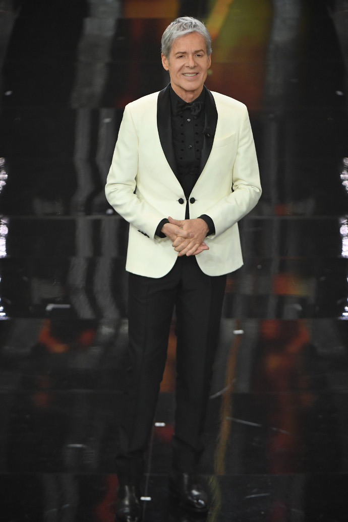 Claudio Baglioni Sanremo 2018 quarta serata