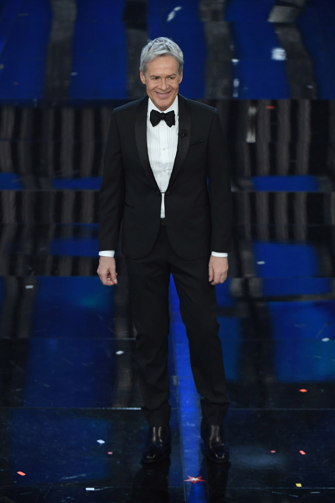 Claudio Baglioni Sanremo 2018 prima serata