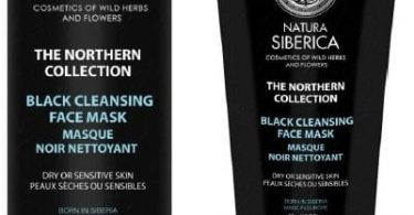 Black Cleansing Face Mask Natura Siberica
