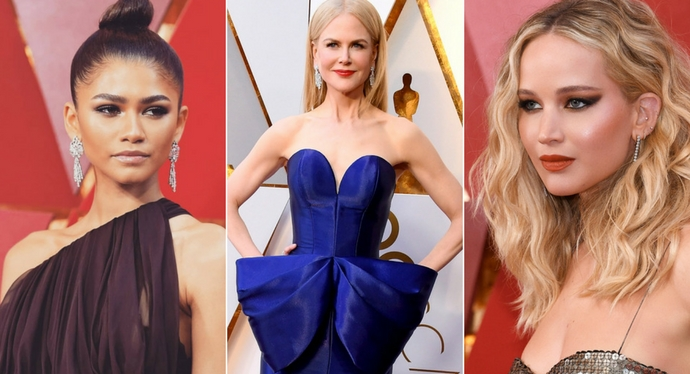 Oscar 2018 beauty look