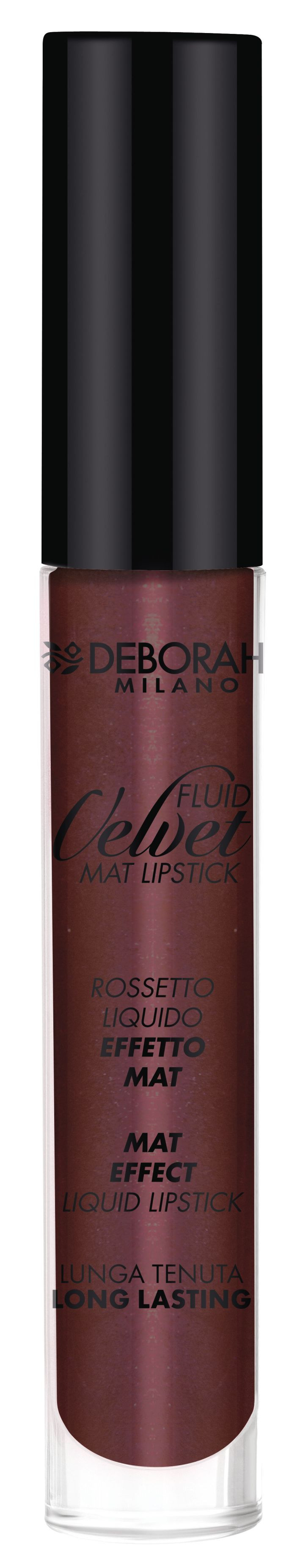 Deborah Milano Fluid Velvet Metal in Plum