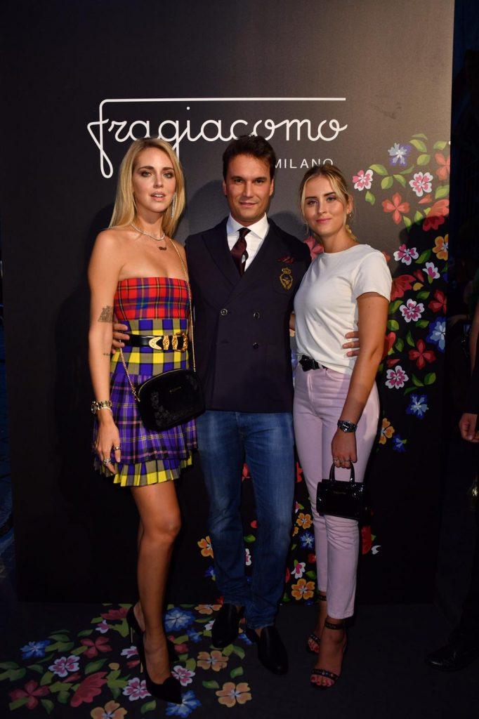 Chiara Ferragni, Federico Pozzi Chiesa CEO Fragiacomo, Valentina Ferragni