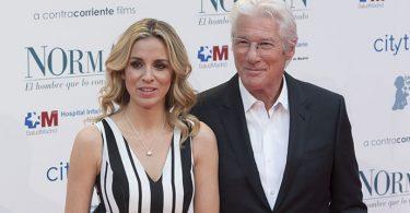Richard Gere e Alejandra Silva