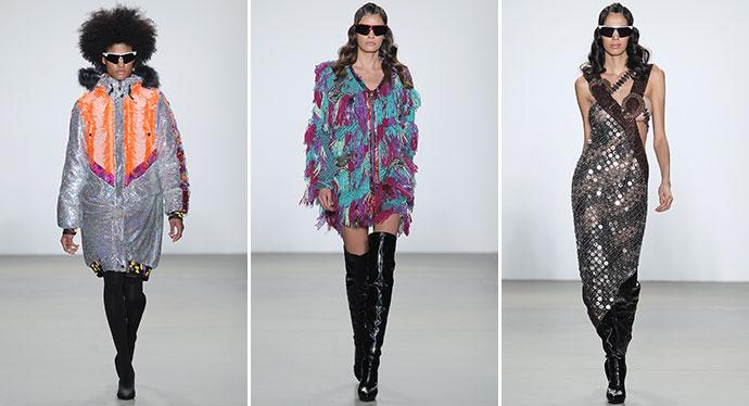pretty nice 40c29 67c61 New York Fashion Week 2019-2020: la collezione di Custo ...