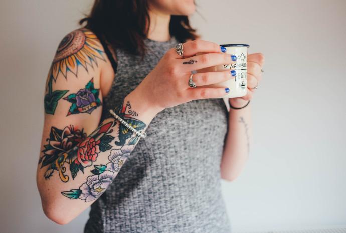 Tatuaggi-old-school-sul-braccio