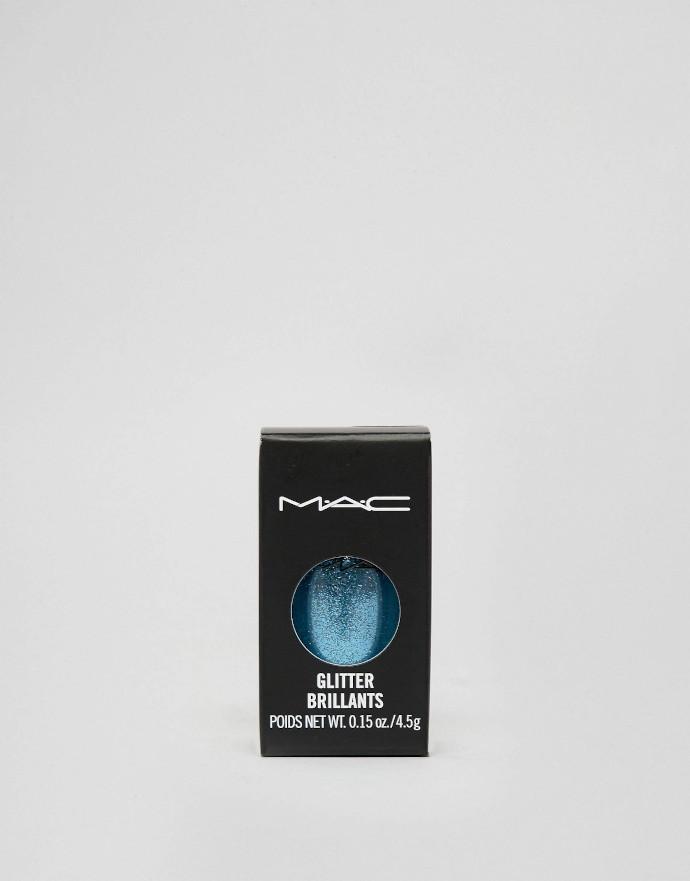 MAC Galactic Glitter turchese