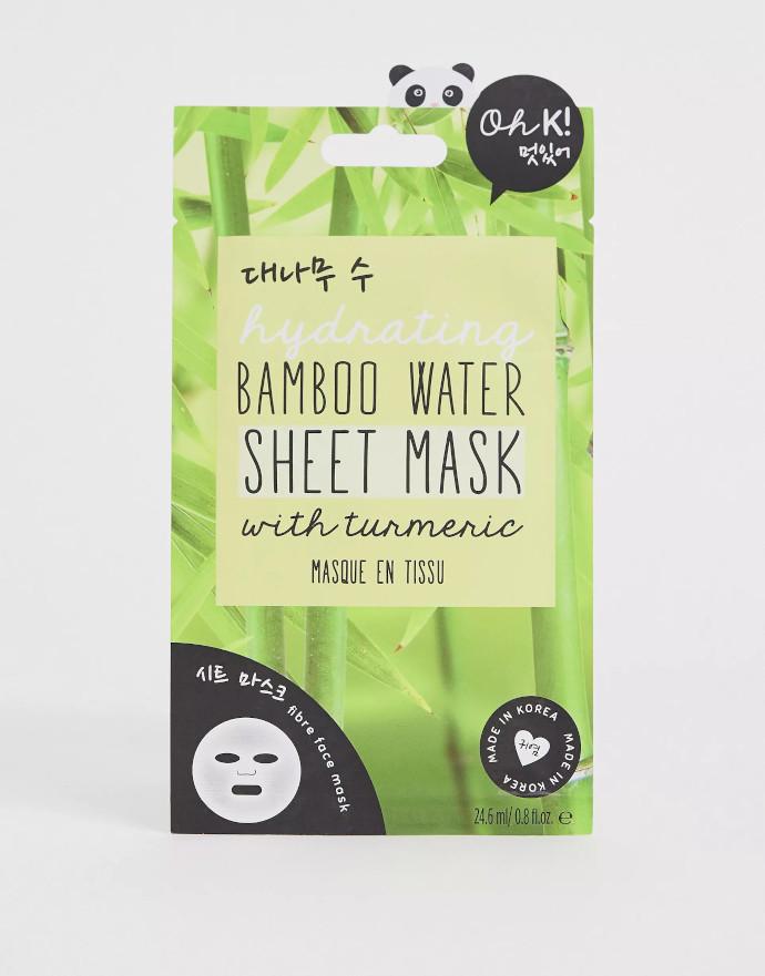 Oh K Maschera idratante all'acqua di bambù