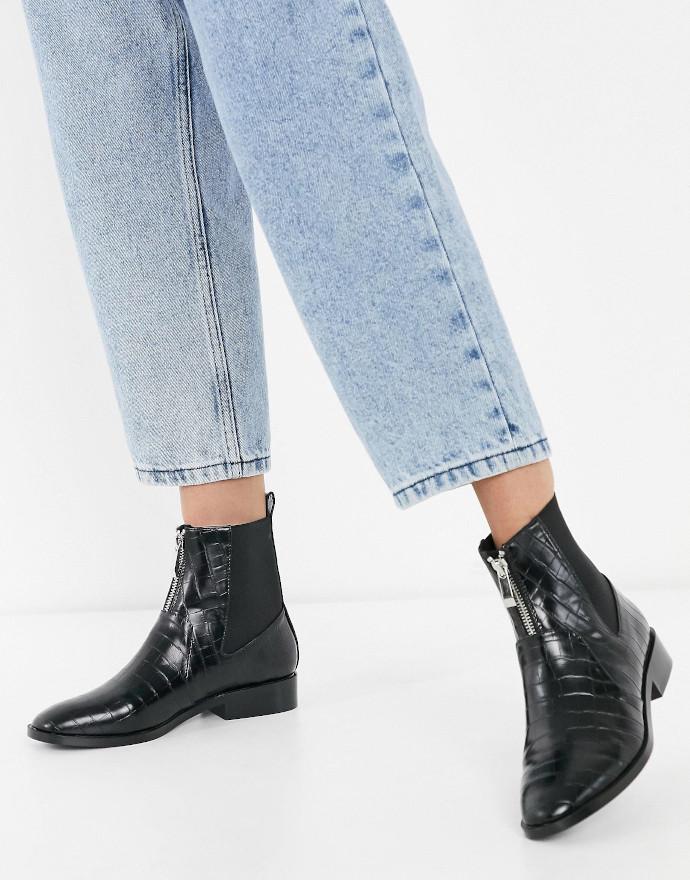 Ankle boots Stradivarius