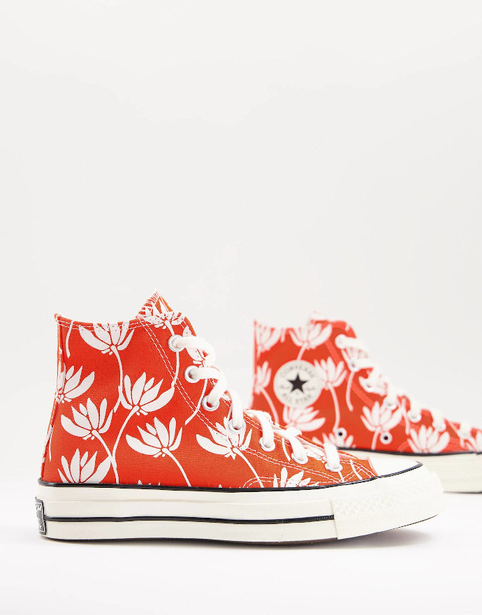 Sneakers con stampa Chuck 70 Converse
