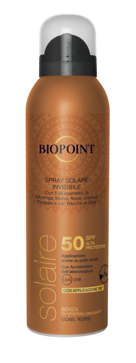 Biopoint Solaire Spray solare invisibile SPF50