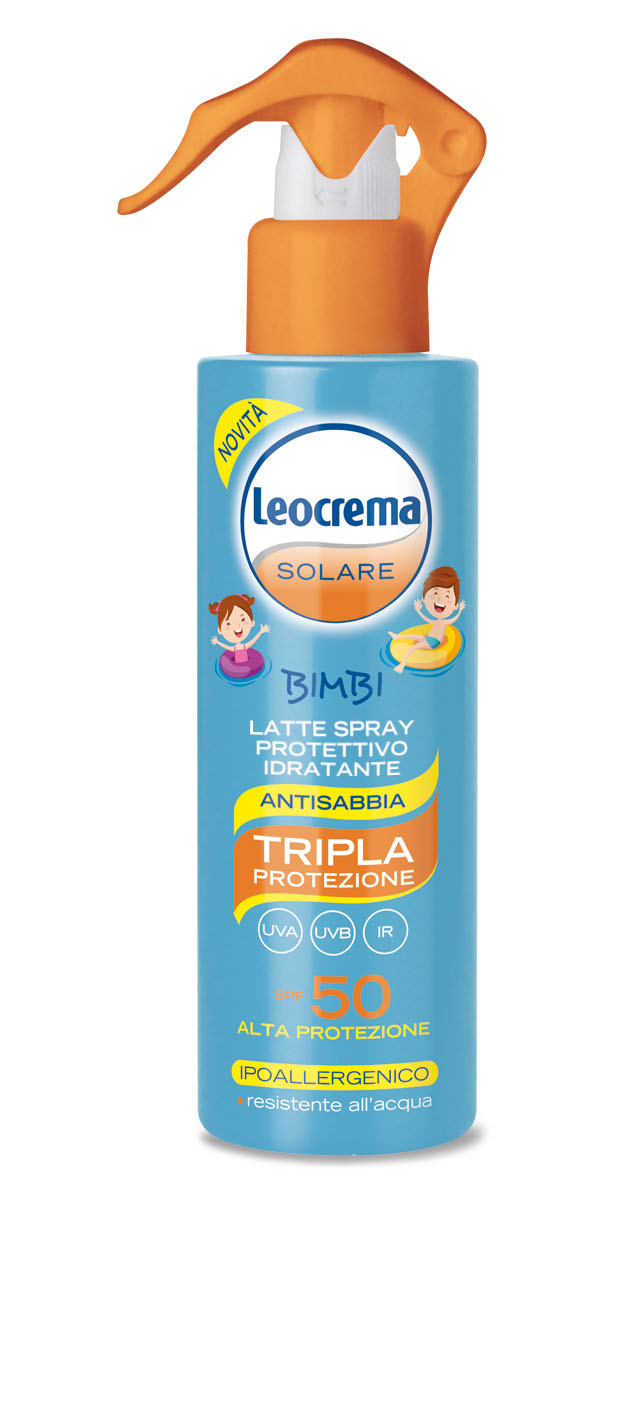 Leocrema Latte spray protettivo idratante