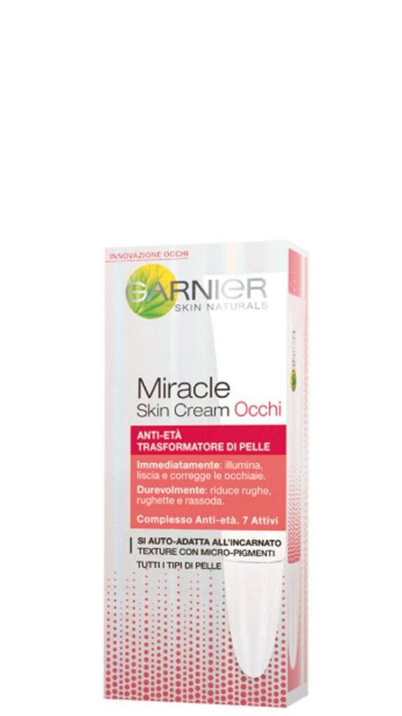 Garnier Miracle Skin Cream Antietà Trasformatore di Pelle Contorno Occhi