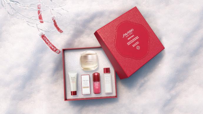 Shiseido Benefiance Wrinkle Smoothing Cream Holiday Kit