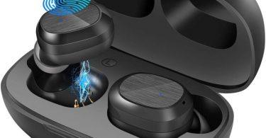 Auricolari Bluetooth con custodia