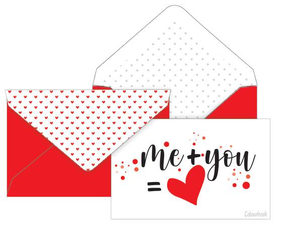 Colourbook Biglietto San Valentino