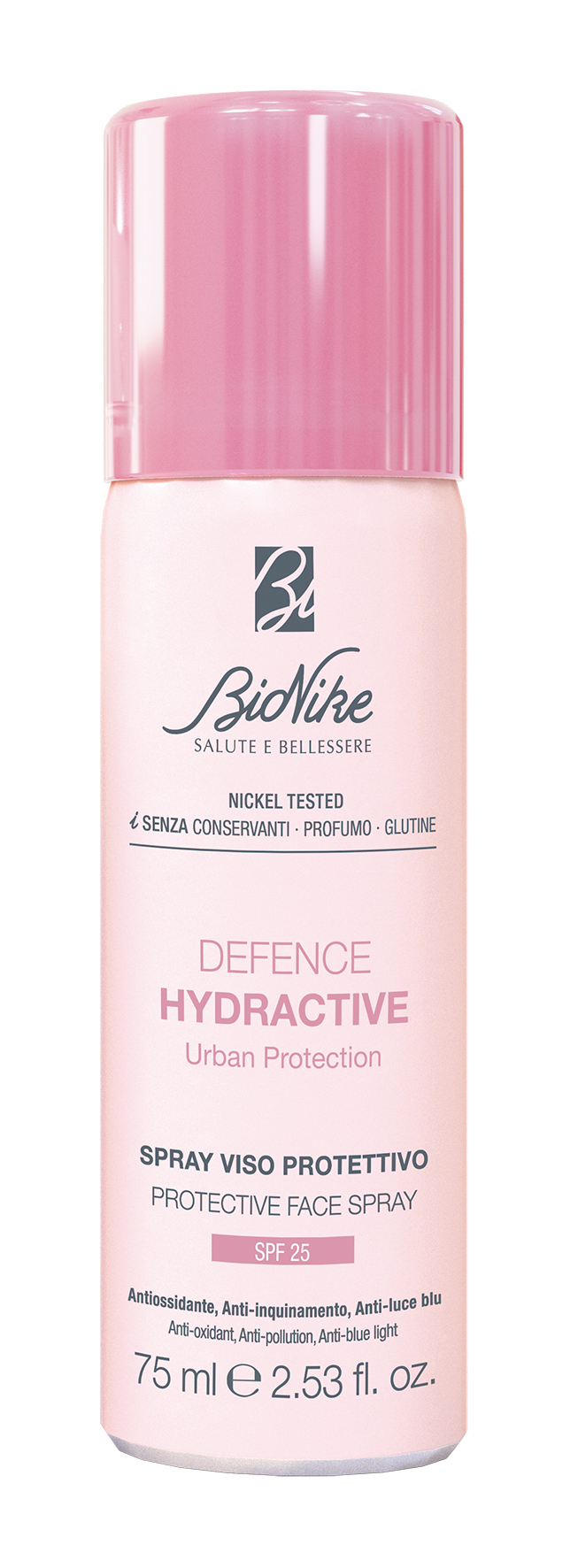 BioNike Defence Hydractive Urban Protection Spray Viso SPF25
