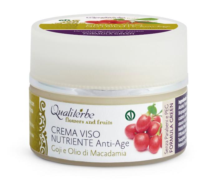 Qualiterbe Crema viso nutriente anti-age Flowers and Fruits