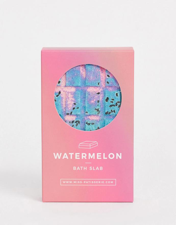 Miss Patisserie Watermelon Bath Slab Bagnoschiuma solido al profumo di anguria