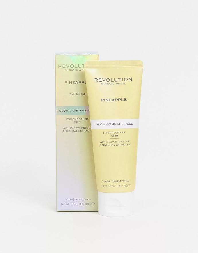 Revolution Skincare Peeling viso illuminante con enzima di ananas Glow Gommage Peel