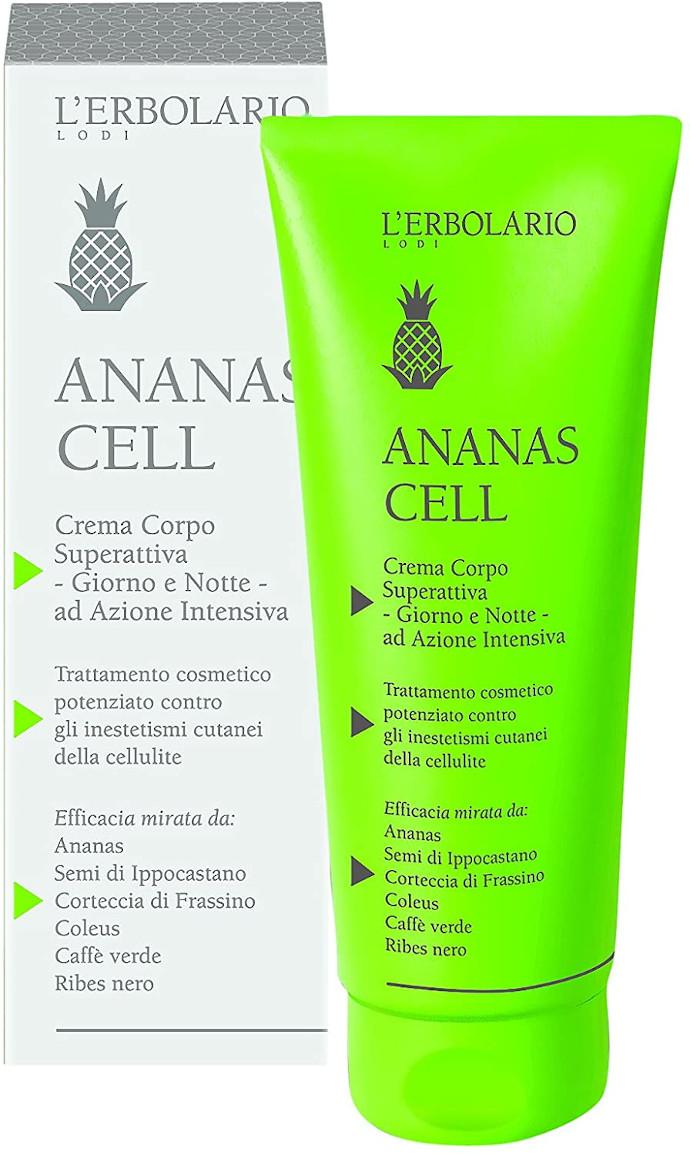 L'Erbolario Ananas Cell Crema per il corpo super attiva