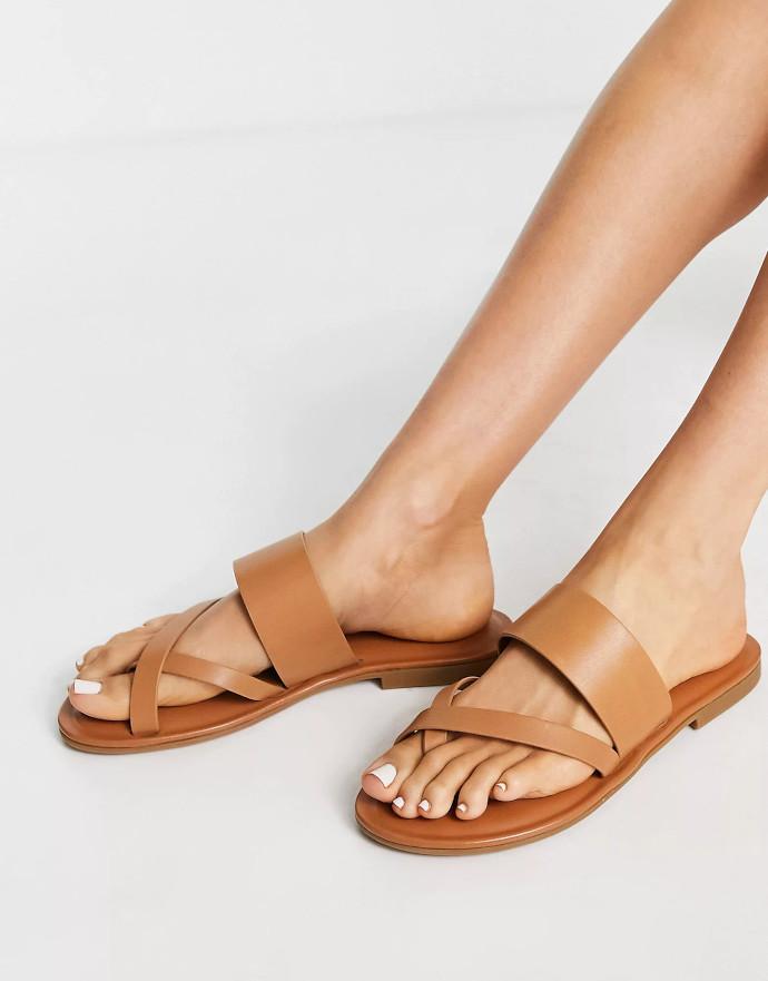 Sandali in pelle beige ALDO