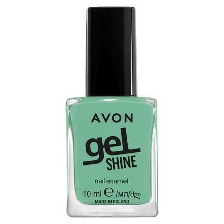 Smalto Avon Gel Shine Verde menta