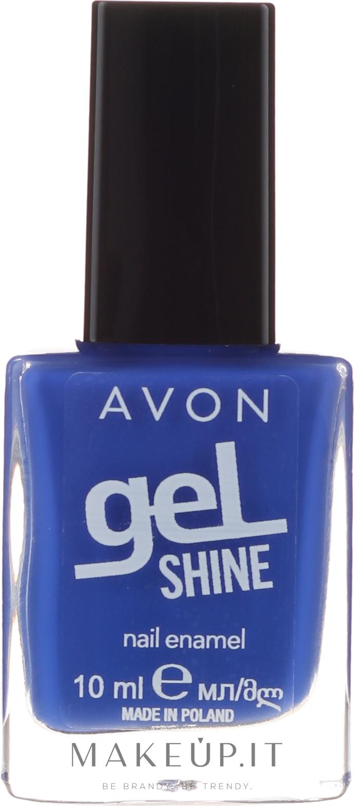 Smalto Avon Gel Shine Blu